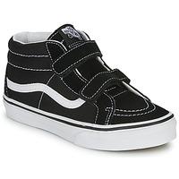 鞋子 儿童 高帮鞋 Vans 范斯 SK8-Mid Reissue V 黑色 / 白色
