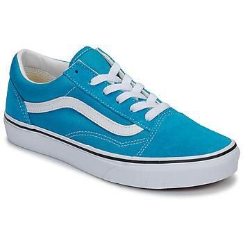 鞋子 儿童 球鞋基本款 Vans 范斯 Old Skool 蓝色