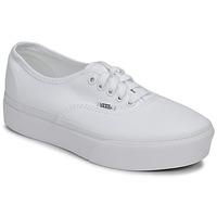 鞋子 女士 球鞋基本款 Vans 范斯 Authentic Platform 2.0 白色