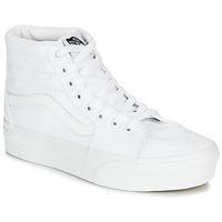 鞋子 女士 高帮鞋 Vans 范斯 SK8-HI PLATFORM 2.0 白色
