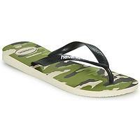 鞋子 男士 人字拖 Havaianas 哈瓦那 TOP CAMU 绿色
