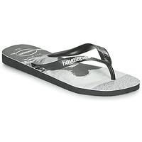 鞋子 男士 人字拖 Havaianas 哈瓦那 TOP PHOTOPRINT 黑色 / 白色