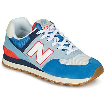 鞋子 球鞋基本款 New Balance新百伦 574 蓝色 / 灰色 / 橙色