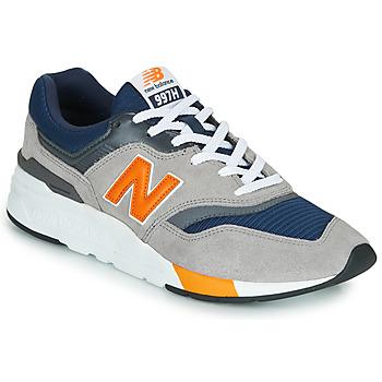 鞋子 球鞋基本款 New Balance新百伦 997 海军蓝 / 灰色 / 橙色