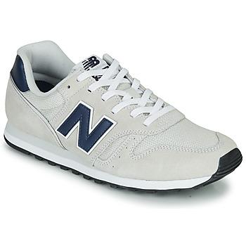 鞋子 球鞋基本款 New Balance新百伦 373 米色 / 海蓝色