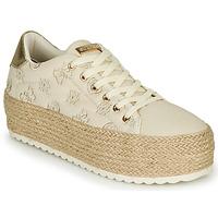 鞋子 女士 球鞋基本款 Guess MARILYN 米色
