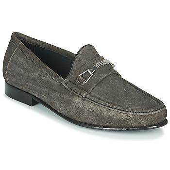 鞋子 男士 皮便鞋 Guess PADOVA 黑色
