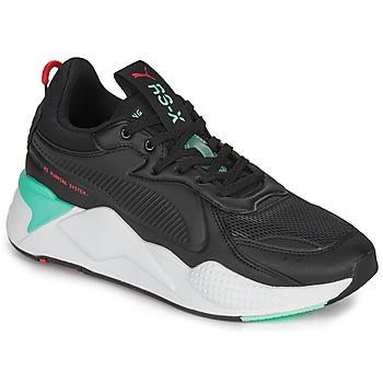 鞋子 男士 球鞋基本款 Puma 彪马 RS-X 黑色 / 白色