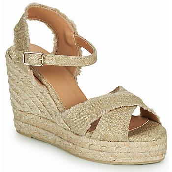 鞋子 女士 凉鞋 Castaner BROMELIA 金色