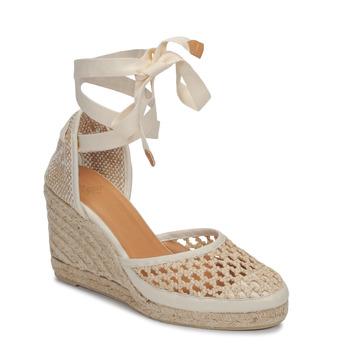 鞋子 女士 凉鞋 Castaner CAROLA 奶油色