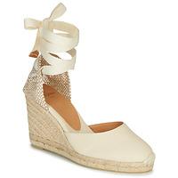 鞋子 女士 凉鞋 Castaner CARINA 奶油色