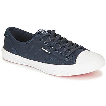 鞋子 女士 球鞋基本款 Superdry 极度干燥 LOW PRO SNEAKER 海蓝色