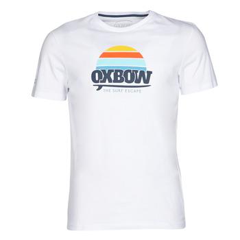 衣服 男士 短袖體恤 Oxbow M1TEKSO 白色
