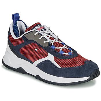 鞋子 男士 球鞋基本款 Tommy Hilfiger FASHION MIX SNEAKER 蓝色