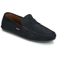 鞋子 男士 皮便鞋 Tommy Hilfiger CLASSIC SUEDE PENNY LOAFER 蓝色