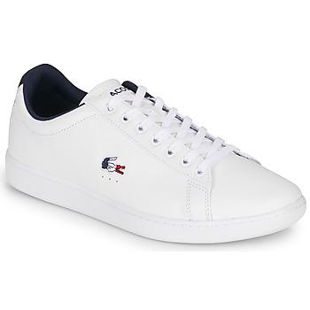 鞋子 男士 球鞋基本款 Lacoste CARNABY EVO TRI1 SMA 白色