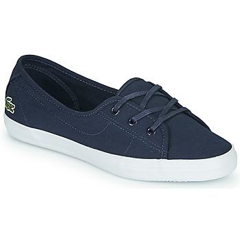 鞋子 女士 球鞋基本款 Lacoste ZIANE CHUNKY BL 2 CFA 海蓝色