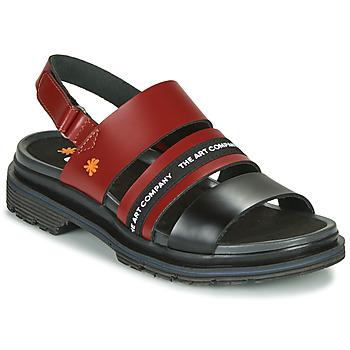 鞋子 女士 凉鞋 Art BIRMINGHAM 波尔多红 / 黑色