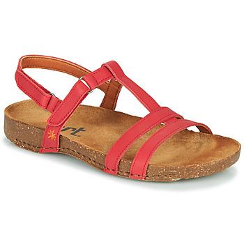 鞋子 女士 凉鞋 Art I BREATHE 红色