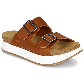 鞋子 女士 休闲凉拖/沙滩鞋 Art MYKONOS 棕色