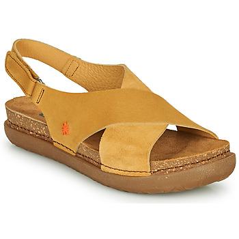 鞋子 女士 凉鞋 Art RHODES 芥末黄