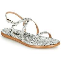鞋子 女士 凉鞋 Neosens AURORA 白色 / 银色