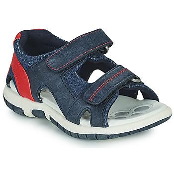 鞋子 男孩 凉鞋 Chicco FLORIAN 海蓝色 / 红色
