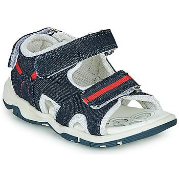 鞋子 男孩 运动凉鞋 Chicco COLBY 蓝色 / 红色