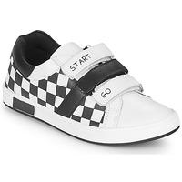 鞋子 男孩 球鞋基本款 Chicco CANDITO 白色 / 黑色