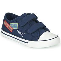鞋子 男孩 球鞋基本款 Chicco COCOS 海藍色 / 白色
