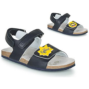 鞋子 男孩 凉鞋 Chicco HAZEL 蓝色 / 黄色