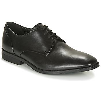 鞋子 男士 德比 Clarks 其乐 GILMAN PLAIN 黑色