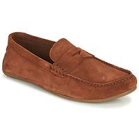 鞋子 男士 皮便鞋 Clarks 其乐 REAZOR PENNY 驼色