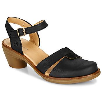 鞋子 女士 凉鞋 El Naturalista AQUA 黑色