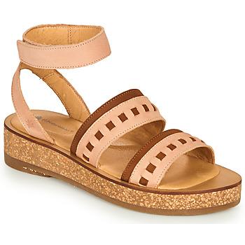鞋子 女士 凉鞋 El Naturalista TÜLBEND 玫瑰色 / 棕色