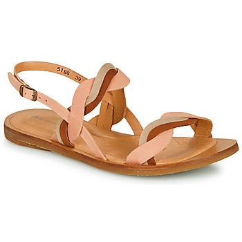 鞋子 女士 凉鞋 El Naturalista TULIP 玫瑰色 / 棕色 / 米色