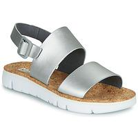 鞋子 女士 凉鞋 Camper 看步 ORUGA 银色