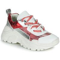鞋子 女士 球鞋基本款 Fru.it CARETTE 白色 / 红色 / 银灰色