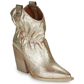 鞋子 女士 短靴 Fru.it LOVITE 金色