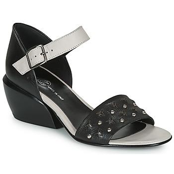 鞋子 女士 凉鞋 Fru.it LEMMINE 黑色 / 白色