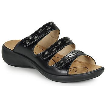 鞋子 女士 休閑涼拖/沙灘鞋 Romika IBIZA 66 黑色