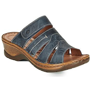 鞋子 女士 休闲凉拖/沙滩鞋 Josef Seibel CATALONIA 49 蓝色