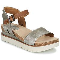 鞋子 女士 凉鞋 Josef Seibel CLEA 01 银灰色