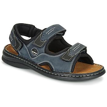 鞋子 男士 运动凉鞋 Josef Seibel FRANKLIN 蓝色