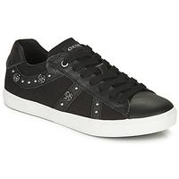 鞋子 女孩 球鞋基本款 Geox 健乐士 J KILWI GIRL 黑色
