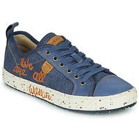 鞋子 男孩 球鞋基本款 Geox 健乐士 J ALONISSO BOY 蓝色 / 棕色