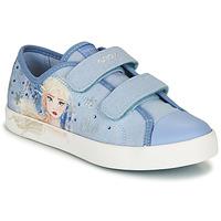 鞋子 女孩 球鞋基本款 Geox 健乐士 JR CIAK GIRL 蓝色