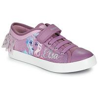 鞋子 女孩 球鞋基本款 Geox 健樂士 JR CIAK GIRL 紫羅蘭