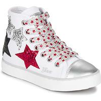 鞋子 女孩 高帮鞋 Geox 健乐士 JR CIAK GIRL 白色 / 红色 / 黑色