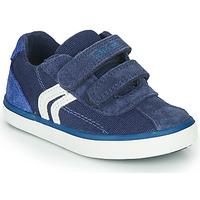 鞋子 男孩 球鞋基本款 Geox 健乐士 B KILWI BOY 蓝色 / 白色